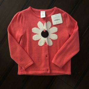 NWT Gymboree size 3T cardigan sweater in pink!